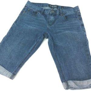 """Rude xxx Mens Skinny Capri shorts Size 30"""""""